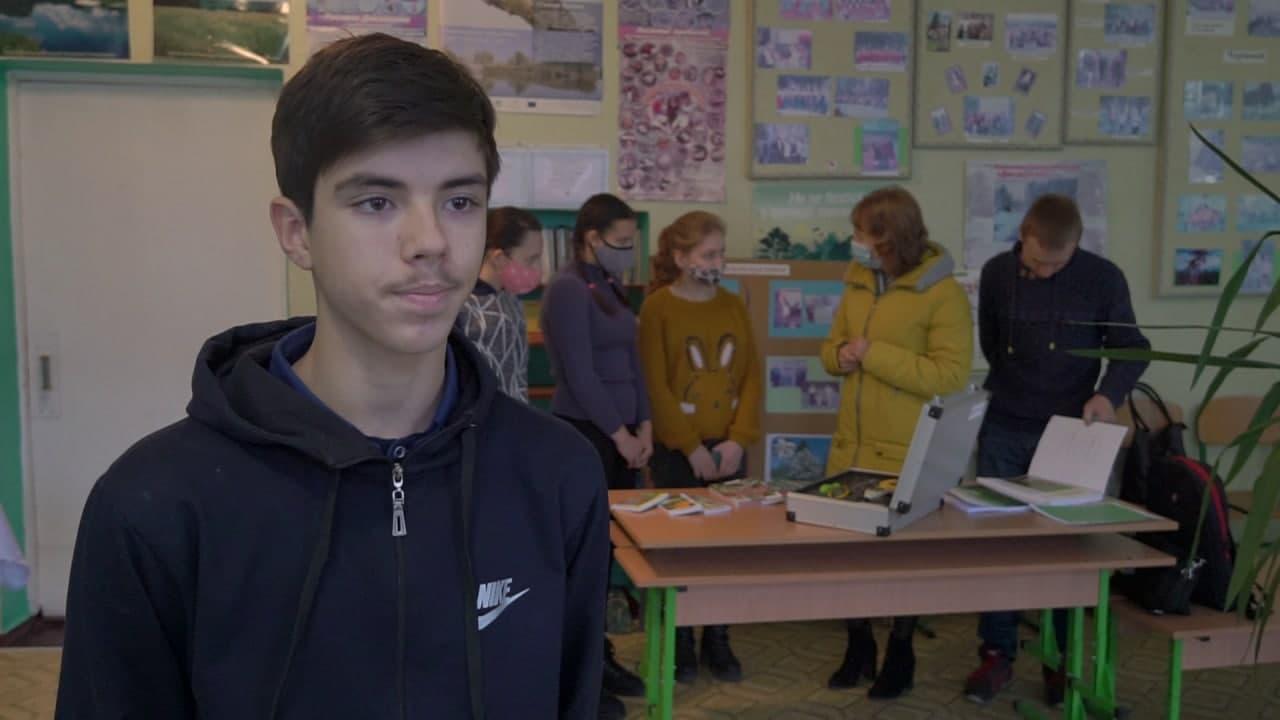 Учень 10 класу Криворудської ЗОШ Максим Кісенко