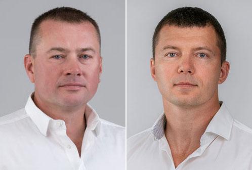 Сергій Гонтовий та Олександр Калуцький