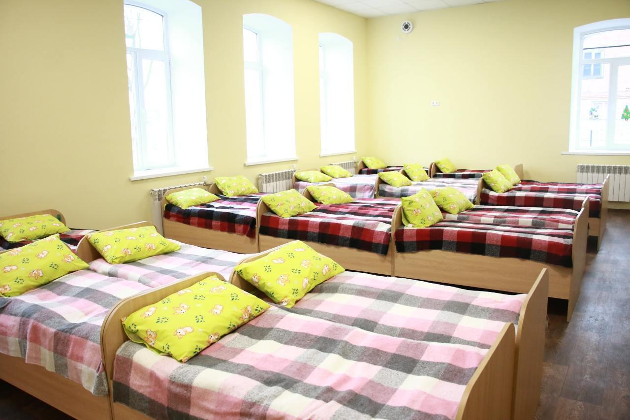 У закладі облаштували спальню, роздягальню, ігрову кімнату, пральню