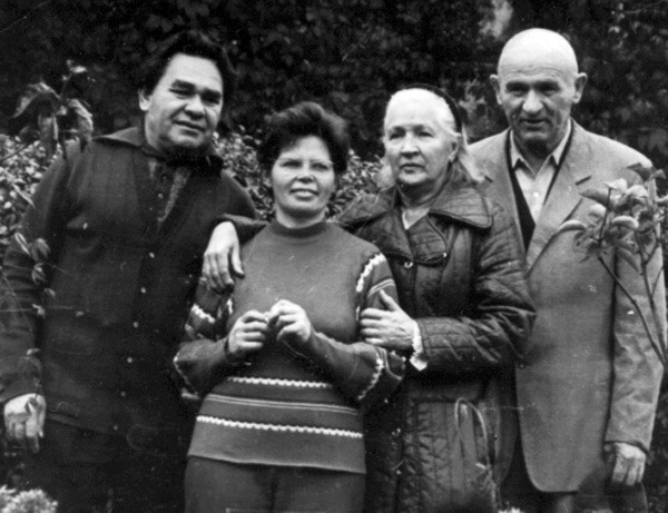 Організатори Української Гельсінкської Групи. Микола та Раїса Руденко, Зінаїда та Петро Григоренки, 1970-ті роки