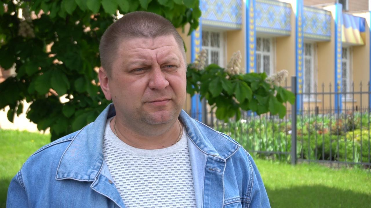 Заступник голови громади Дмитро Сокирко