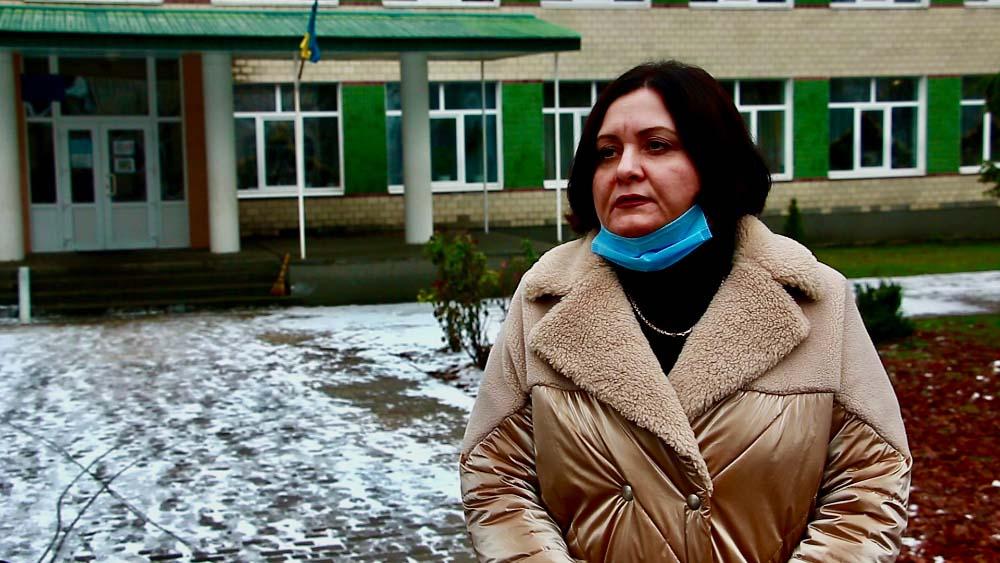 Класний керівник сьомого класу Староаврамівської ЗОШ Тетяна Гайдар