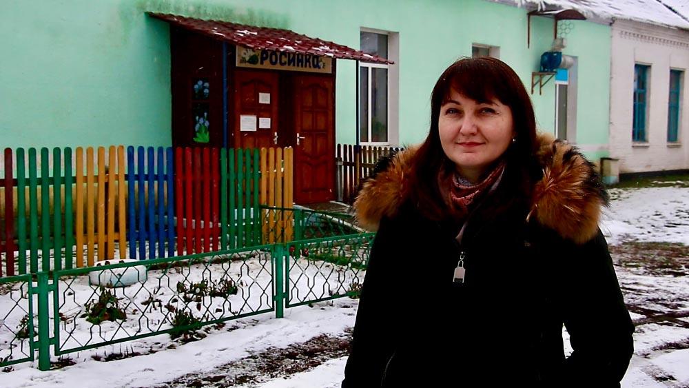 Завідувачка Березняківського дитячого садка «Росинка» Світлана Кочура