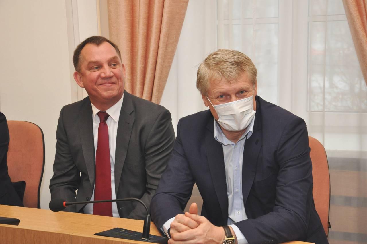 Олександр Артеменко та Ігор Кислов