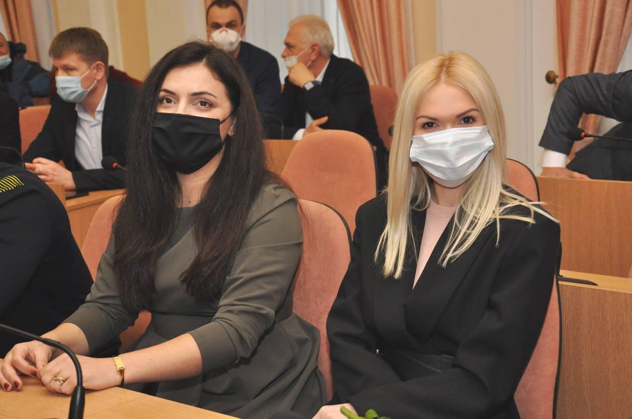 Маріанна Соліман та Мілена Муравенко