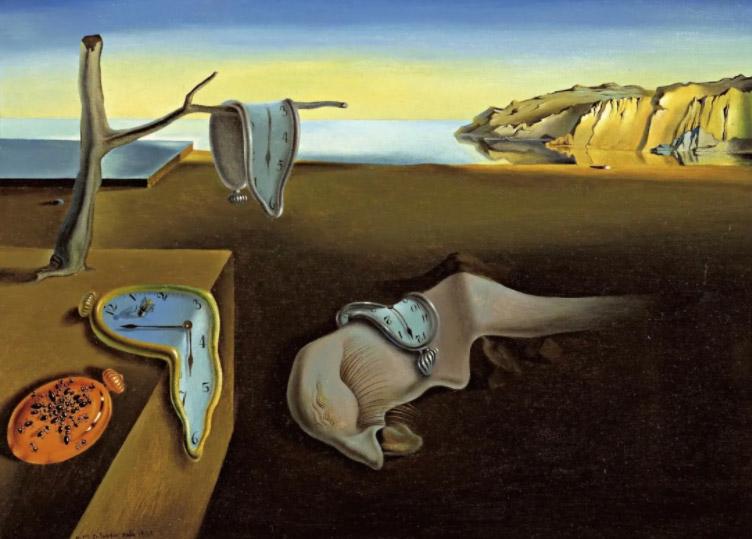 Картина Сальвадора Далі «Постійність пам'яті»