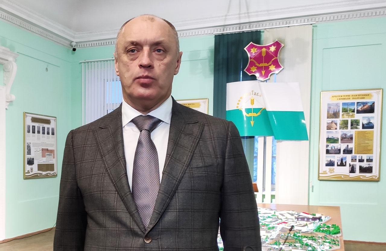 Голова Полтавської громади Олександр Мамай