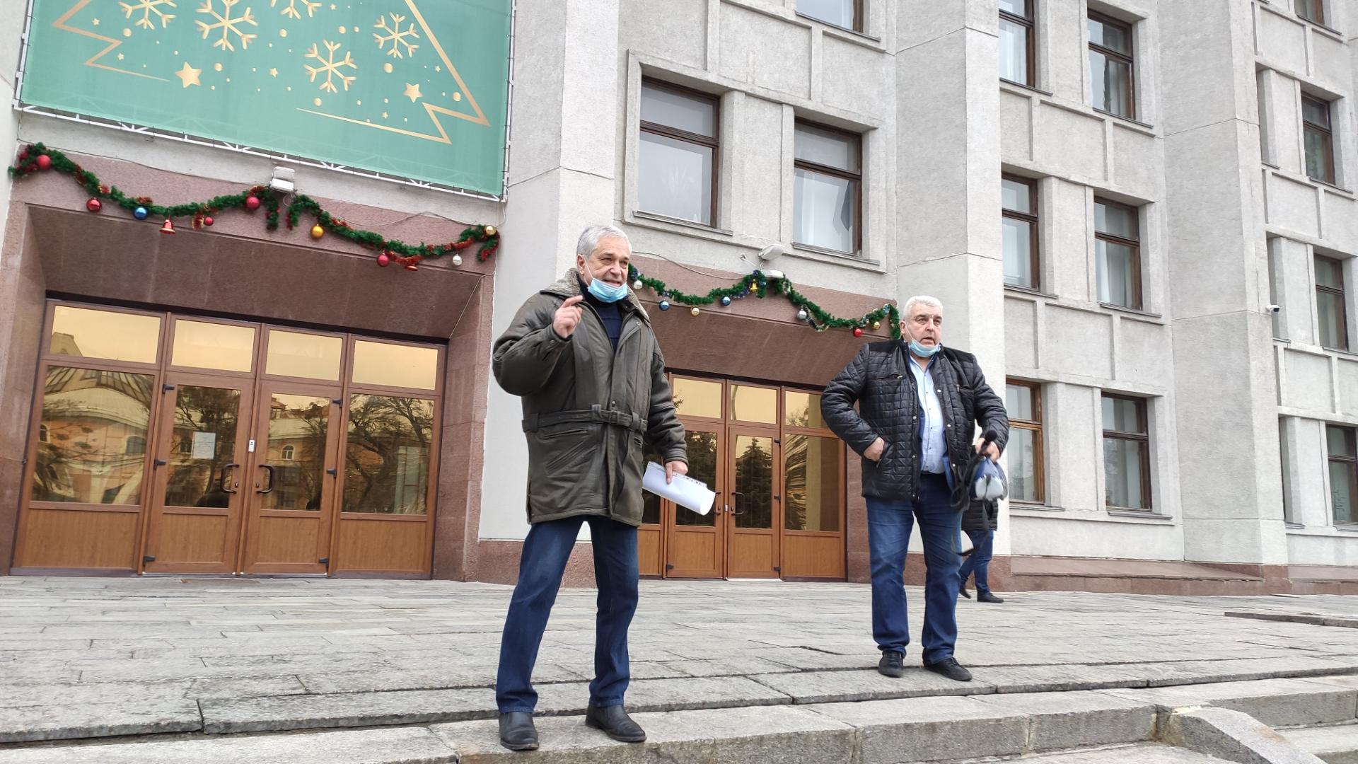 Роман Стегній та Василій Ковальчук