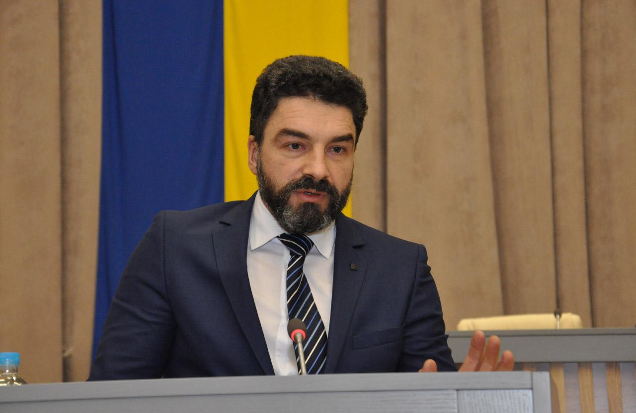 Голова правління ПрАТ «Кременчукгаз» Богдан Оксененко