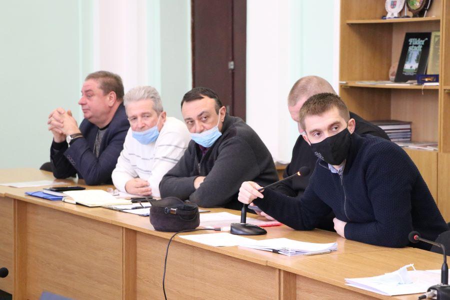 Сергій Сінельнік та керівник комунальних підприємств Полтави