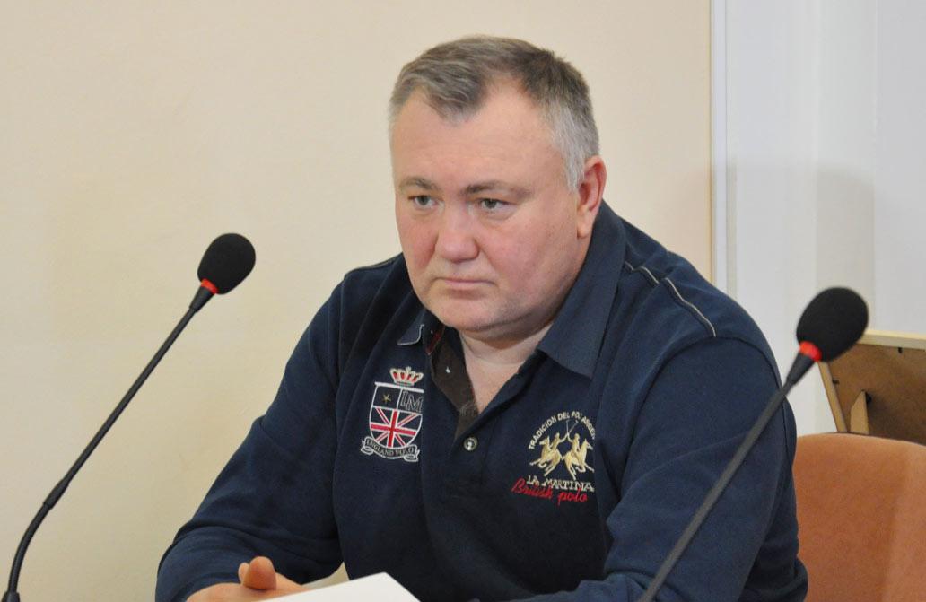 Владислав Кива, депутат фракції «Совість України» Полтавської міської ради 7-го скликання