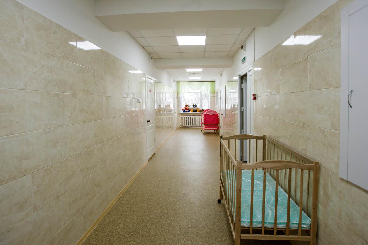У Шишацькій лікарні відремонтували коридори та обладнали пожежну сигналізацію