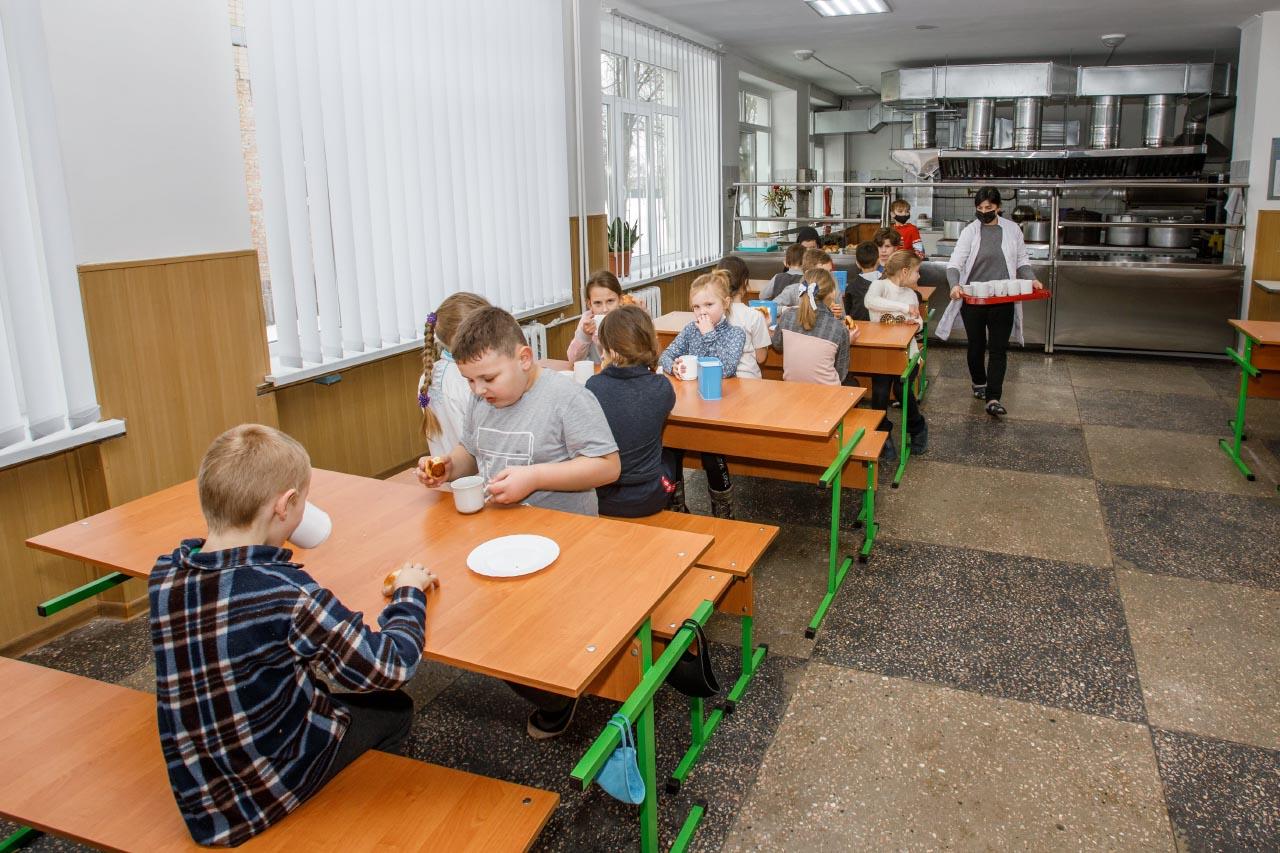 У Великосорочинській школі завершили реконструкцію харчоблоку та забезпечили його сучасним обладнанням