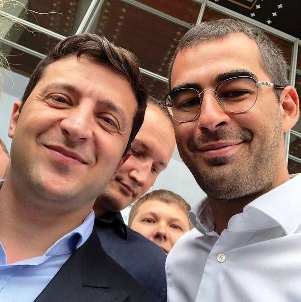 Володимир Зеленський та Олександр Трухін