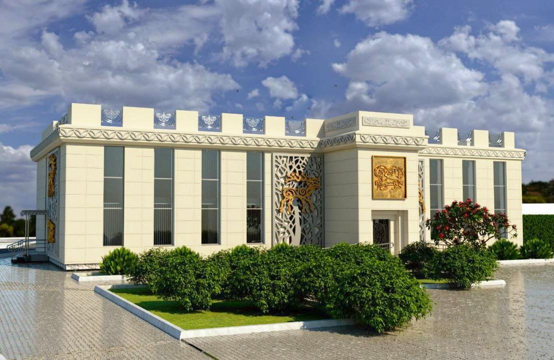 Ескіз будівництво музею заповідника «Більськ»