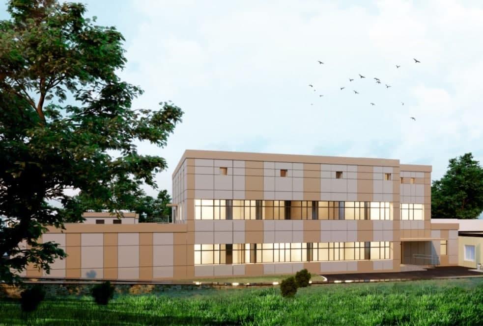Будівництво радіологічного центру для онкодиспансеру у Полтаві