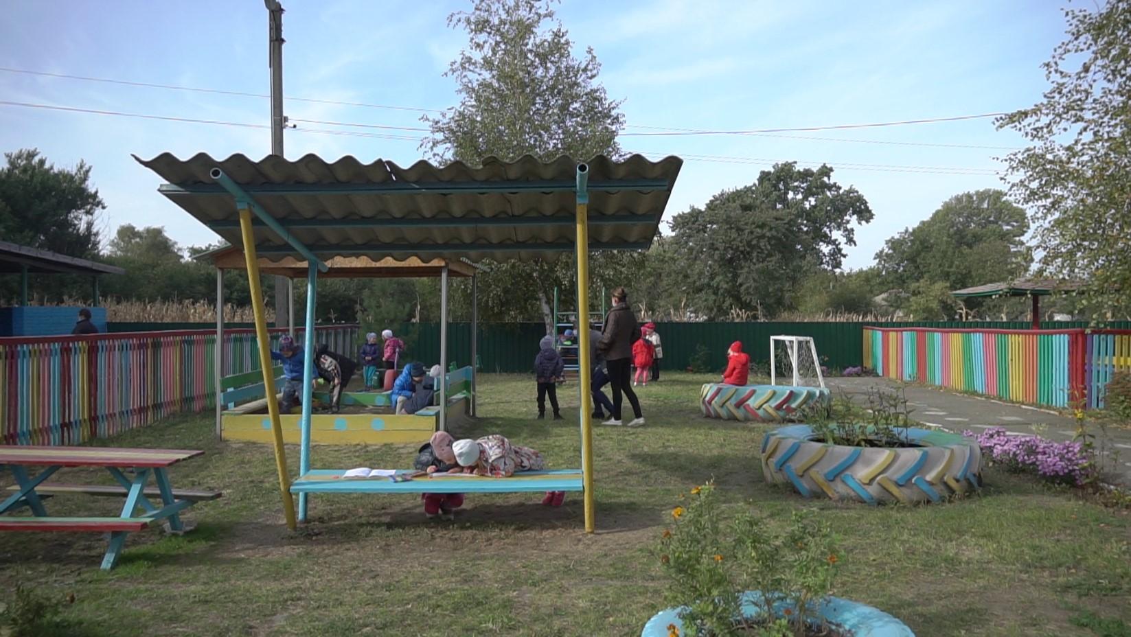 «Клас під відкритим небом» у Мачухівській громаді створили у межах конкурсу «Громада своїми руками»