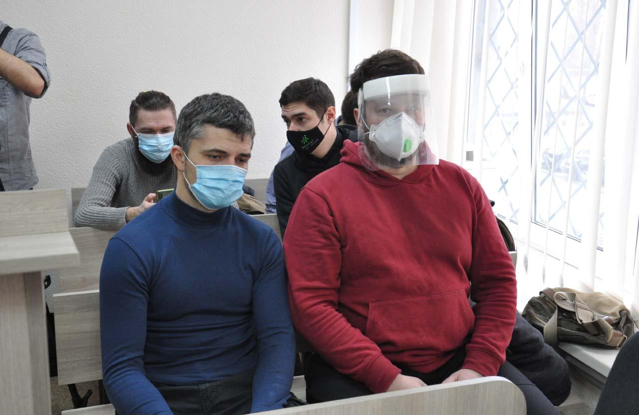 Потерпілі Дмитро Юденко та Олександр Коба