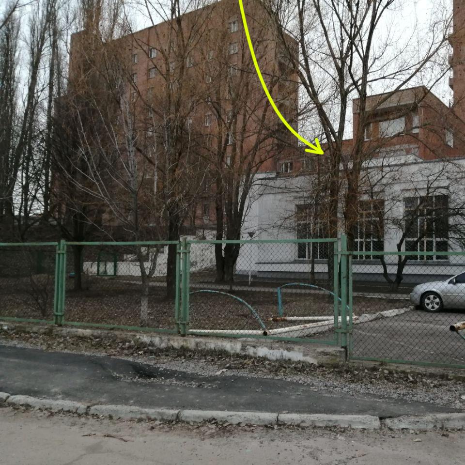 Гуртожиток УМСА на вул. Олени Пчілки, 44