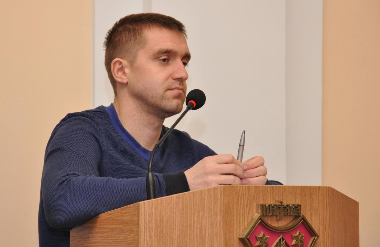 Начальник управління ЖКГ Сергій Сінельнік