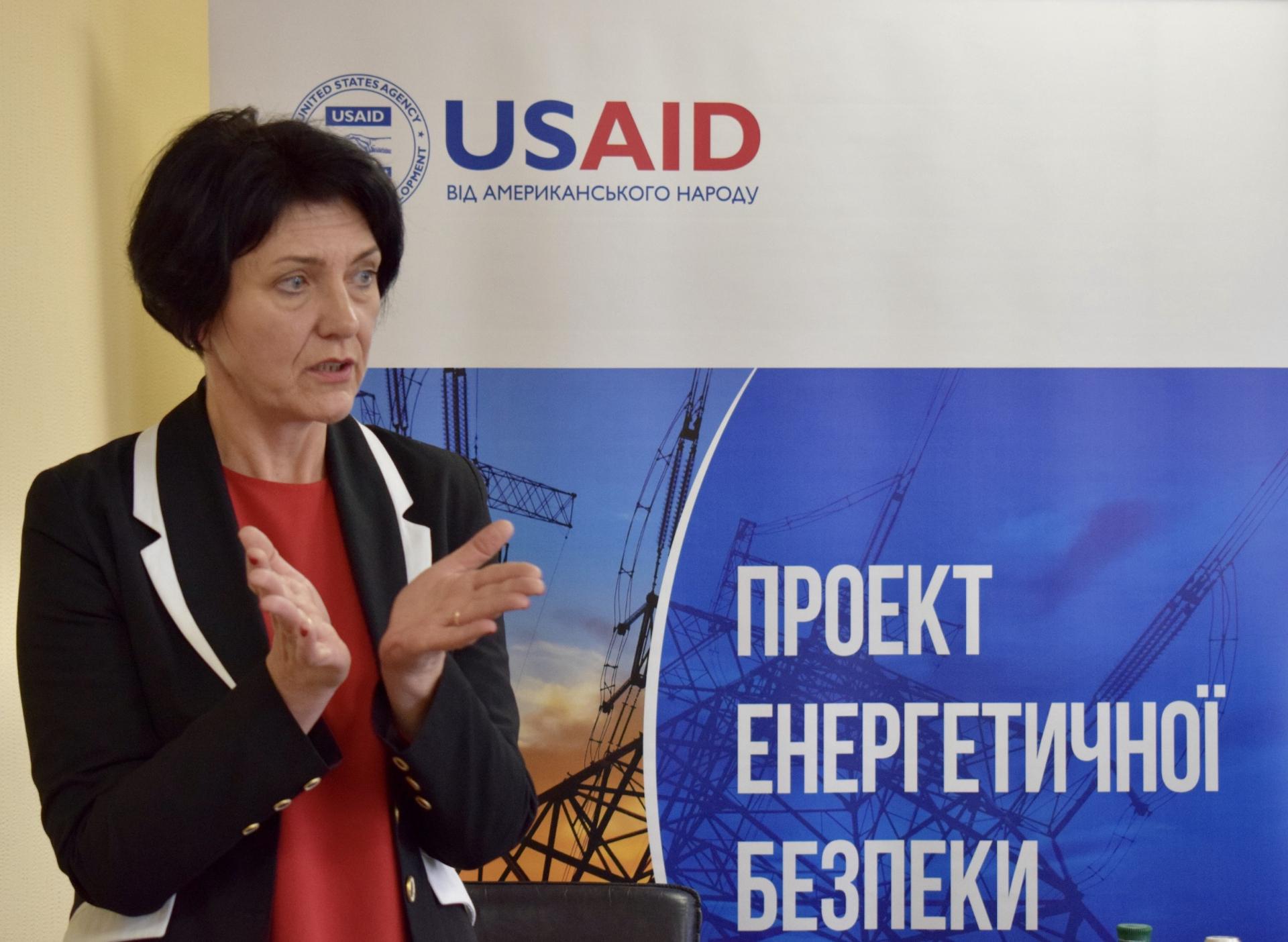 Гендерна спеціалістка USAID Проєкту енергетичної безпеки Юлія Галустян