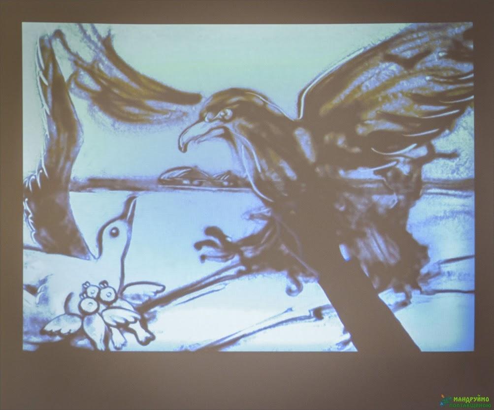 Анімація на мотиви пісні-вірша Мазепи про чайку