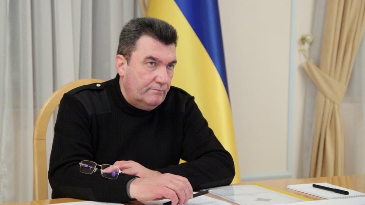Cекретар РНБО Олексій Данилов