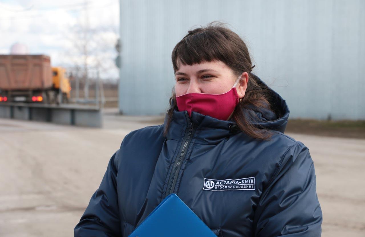 Інженер з техногенно-екологічної безпеки агрофірми імені Довженка Юлія Переяслівська