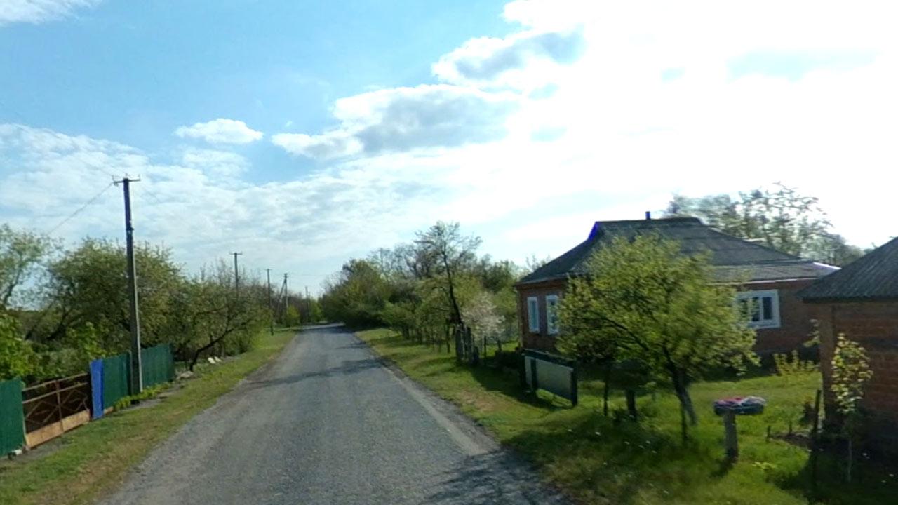 Стоп-кадр з фільму: село Пашенівка — мала батьківщина флотоводця