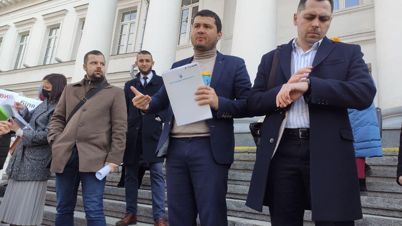 Вадим Ямщиков виступає проти будівництва у Прирічковому парку