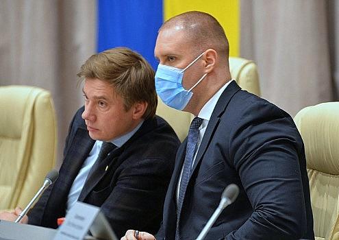 Олександр Біленький та Олег Синєгубов