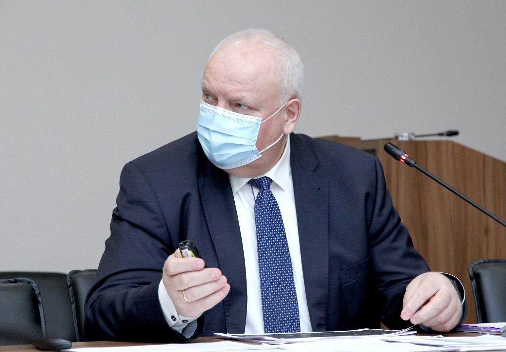 Керівник Департаменту охорони здоров'я області Віктор Лисак