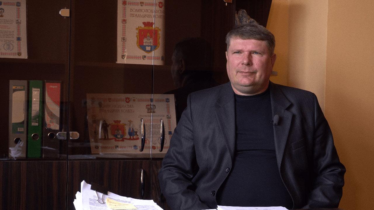Голова Великосорочинської ТГ Олександр Тищицький