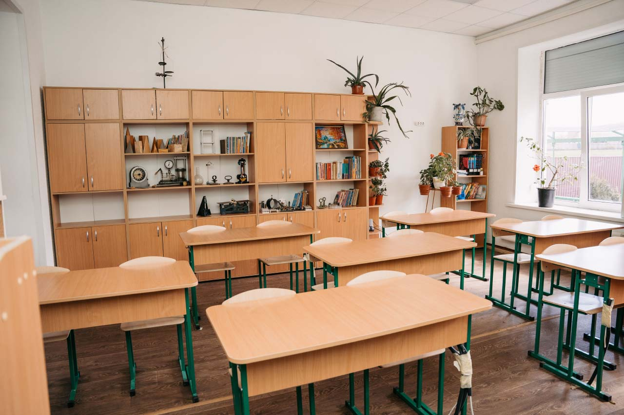 Оновлений фізико-математичний кабінет