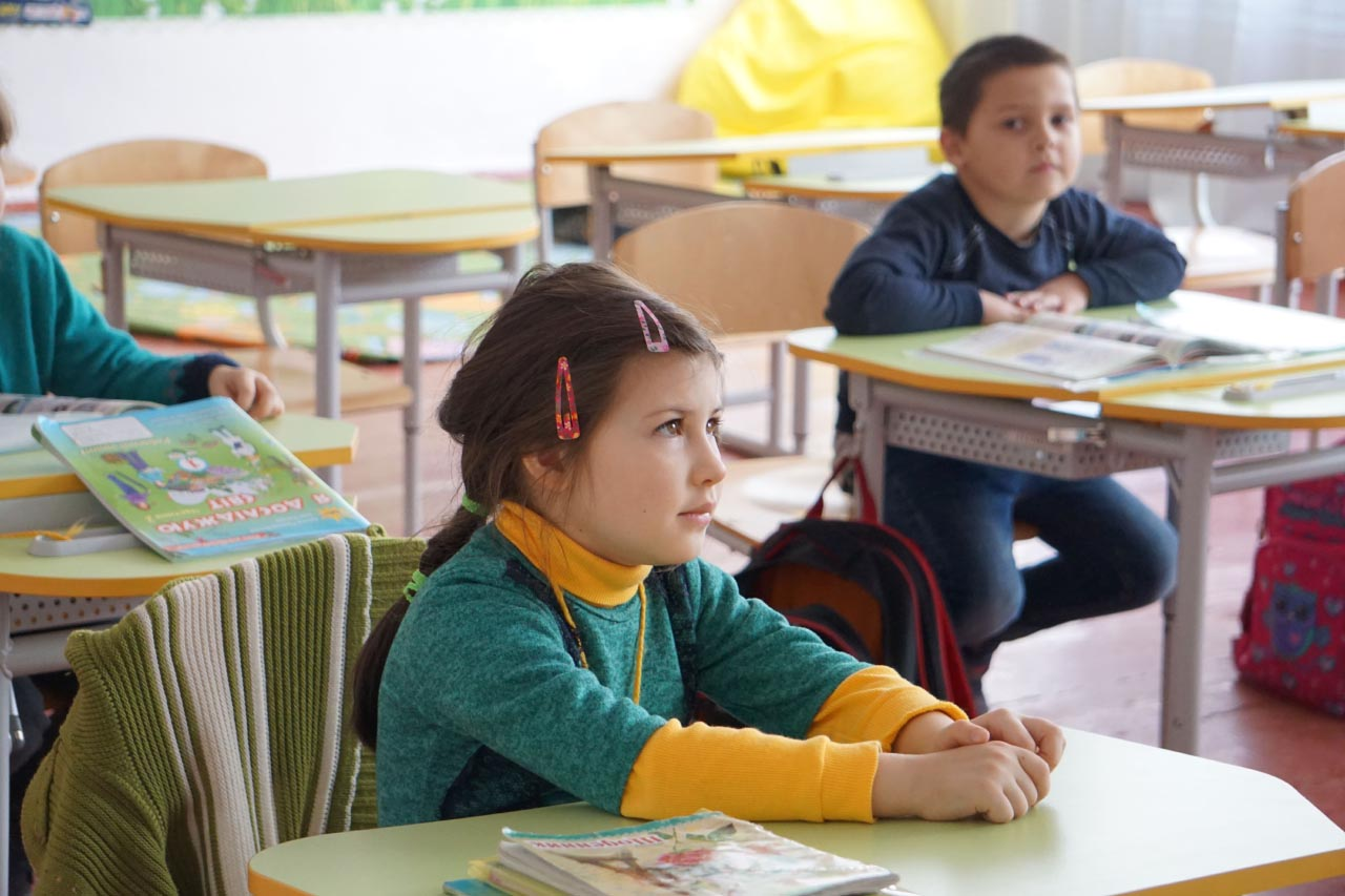 Учні молодшої школи вже успішно навчаються в оновлених класах