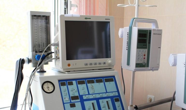 Апарат ШВЛ в одній із лікарень Полтавщини