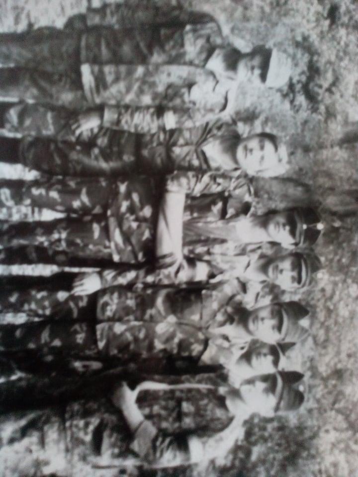 Представники Полтавського СНУМ на загальноукраінському вишколі разом з ветераном УПА