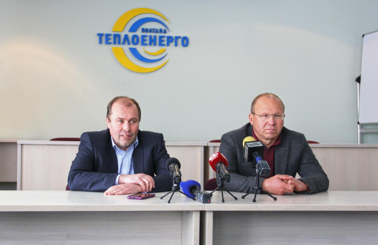 Гендиректор Олександр Олексенко та технічний директор Володимир Пасічко