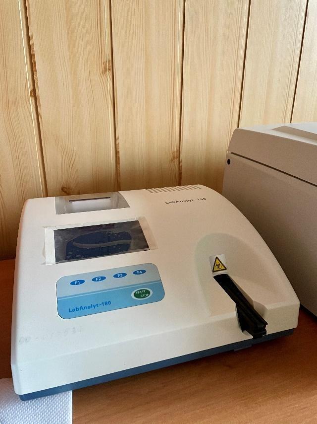 Аналізатор крові та сечі у місцевій амбулаторії