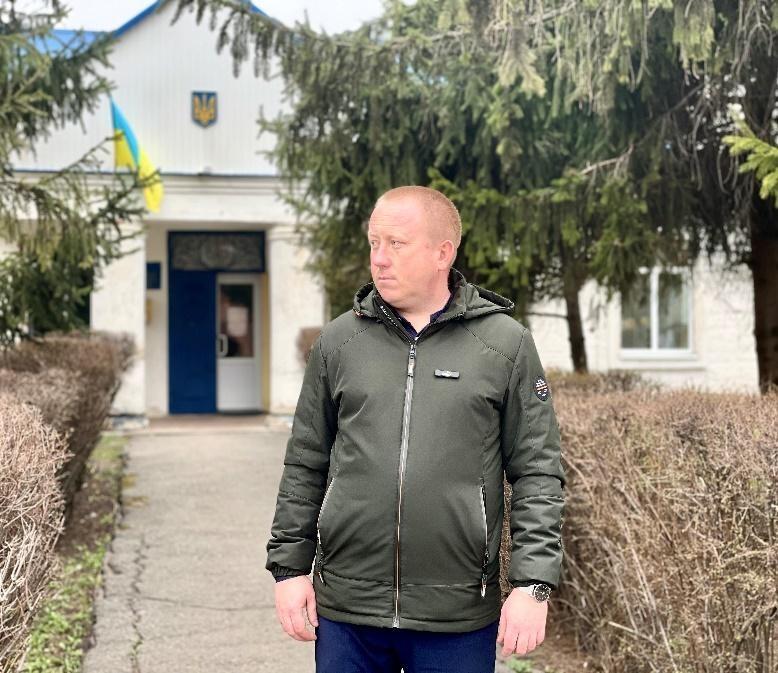Голова Машівської ТГ Сергій Сидоренко