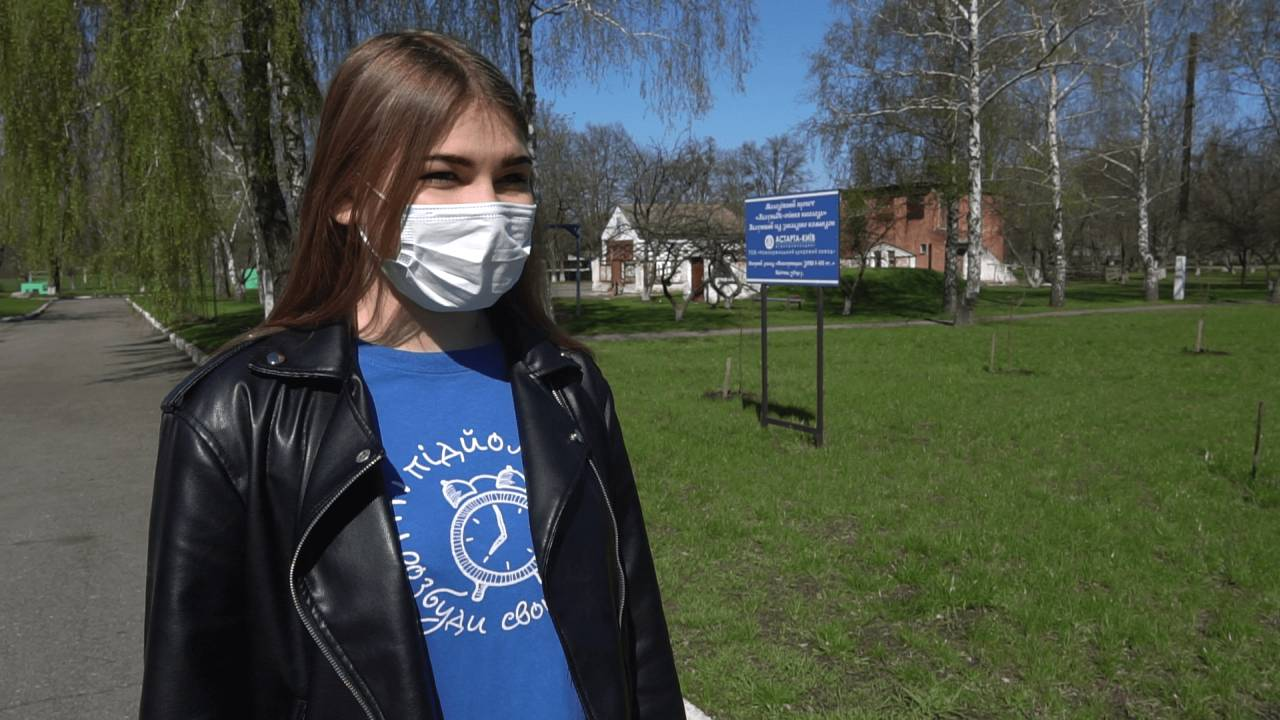 Ініціаторка проєкту «ЯблуньОК» Яна Бабич