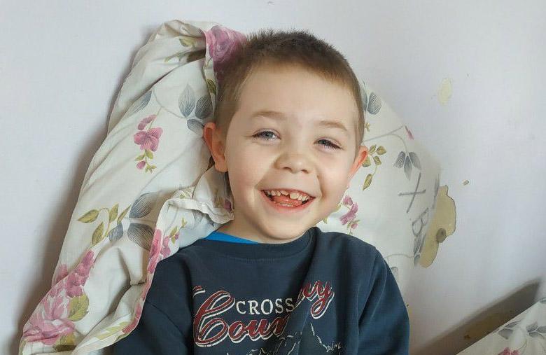7-річний Богдан у квітні 2020 року