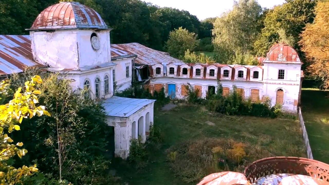 Палац Муравйових-Апостолів у селі Хомутець