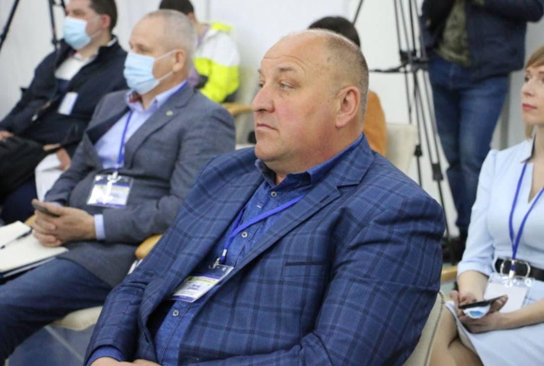 Голова Нехворощанської громади Віктор Дубович
