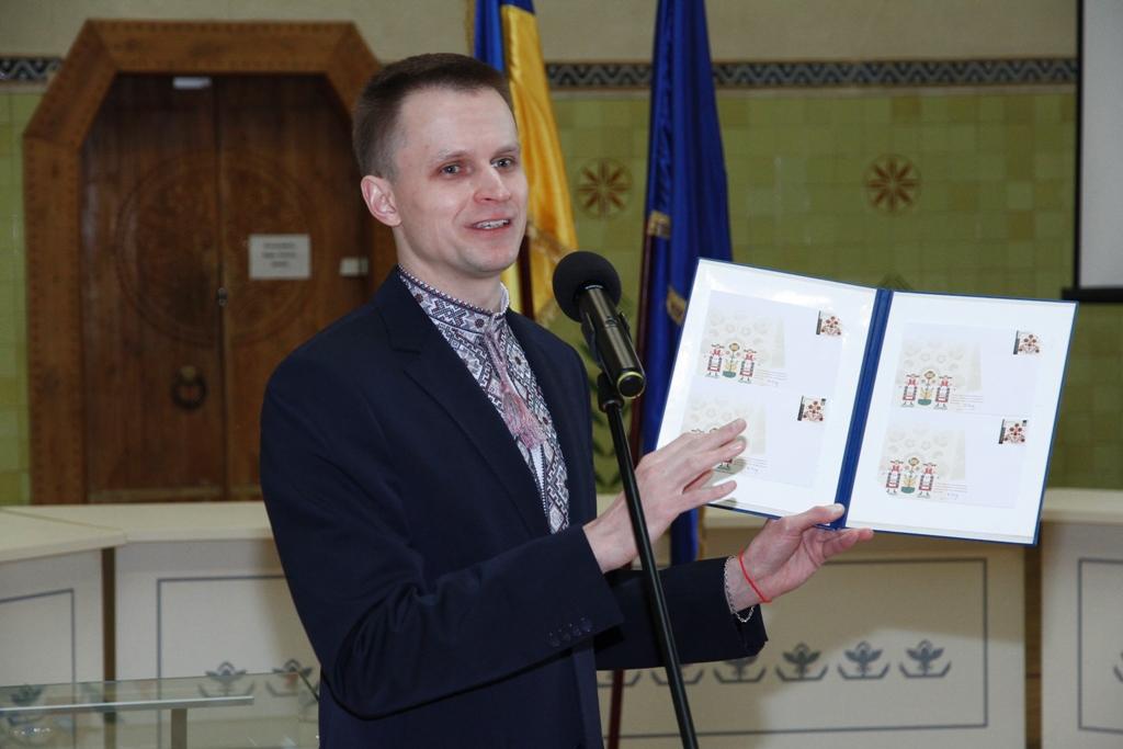 Гліб Кудряшов на церемонії погашення конверта