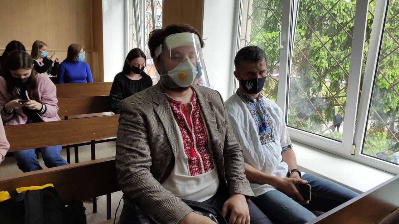 Потерпілі Олександр Коба та Дмитро Юденко