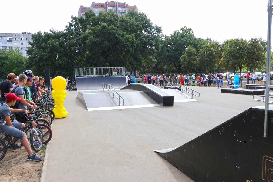 Скейтпарк в мікрорайоні Алмазний