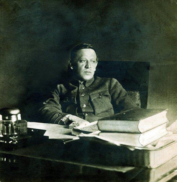 Голова Директорії та Головний отаман військ Української Народної Республіки Симон Петлюра. Одна з останніх фотокарток, зроблена 1925-го в Парижі