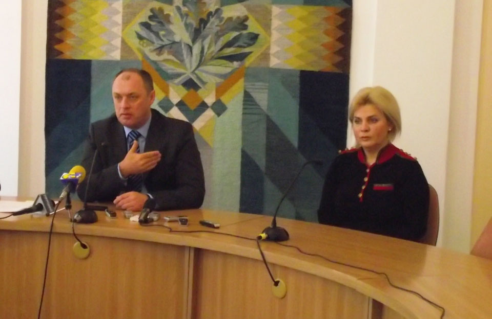Олександр Мамай та Ірина Мироненко у 2010 році