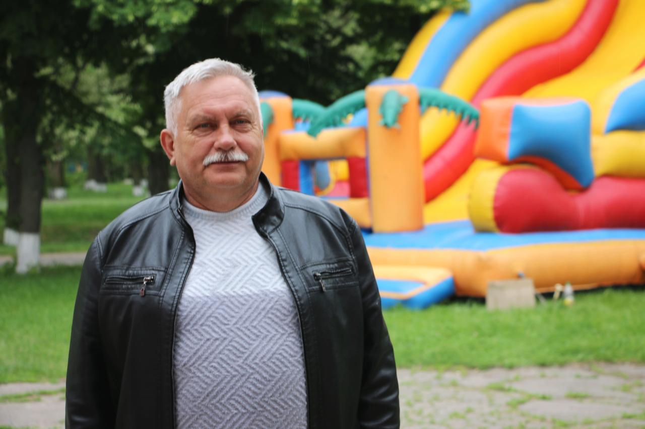 Заступник голови Коломацької громади Олександр Кулініч